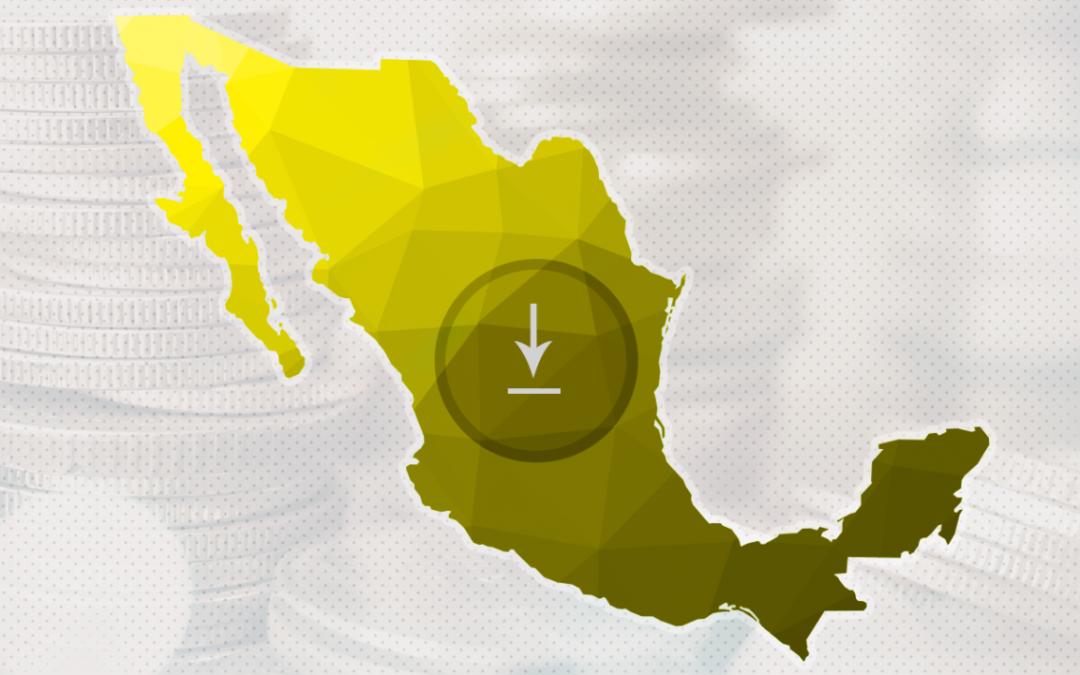 0.0%, el crecimiento de México en el 2T tras revisión a la baja del Inegi